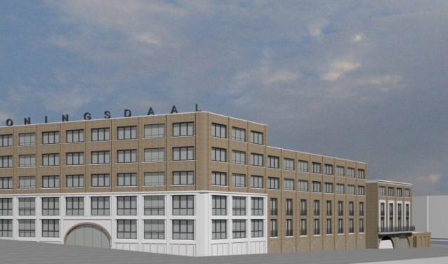 Impressie van de huurappartementen in Koningsdaal Nijmegen. De woningen worden aangeboden via www.entree.nu.