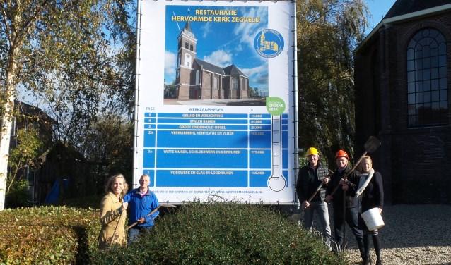 De kerkrentmeesters hebben een Commissie Fondsenwerving restauratie kerk in het leven geroepen die tot doel heeft om maar liefst 600.000 euro te werven.