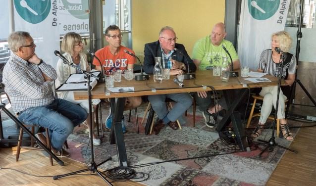 Tijdens de discussiemiddagen van De Alphense Talkshow komen opiniemakers en organisaties aan het woord.FOTO: Raymond Geertsen