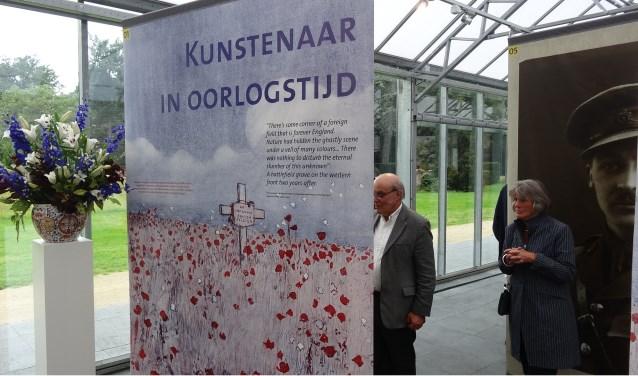 """""""Kunstenaar in oorlogstijd"""" is te zien tot 10 december in Huis Doorn. FOTO: Frits van Schaik"""