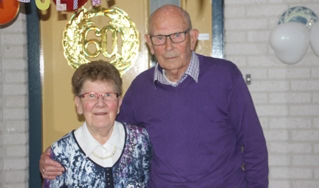 Het echtpaar Dora en Henk Grobben geniet nog zoveel mogelijk van alles om hen heen