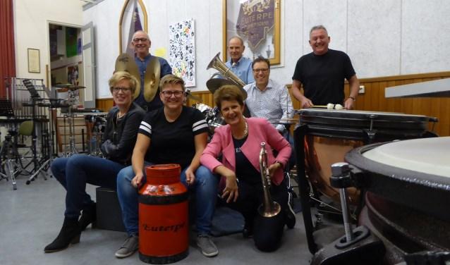 Dit jaar bestaat muziekvereniging Euterpe 125 jaar. Dit jubileumjaar wordt gevierd met tientallen concerten, festivals en andere feestelijke evenementen. FOTO: Rachel van Westen