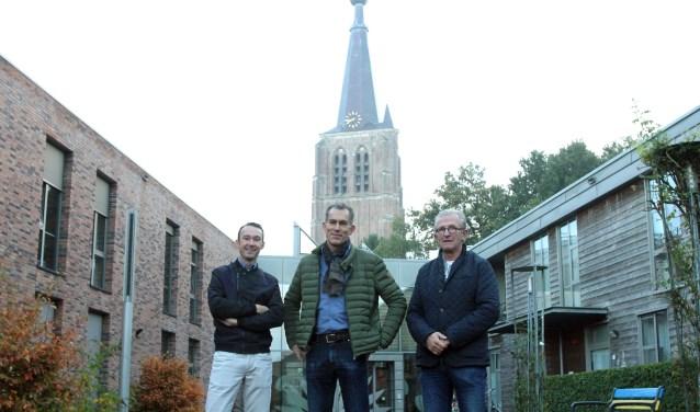 Van links naar rechts: Norbert van den Hurk, Hans van Kuijk en Sjef de Vocht. Foto: Theo van Sambeek