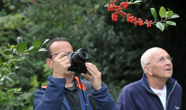 Tijdens de Kunstmarkt bleek dat veel mensen geïnteresseerd zijn in fotografie.