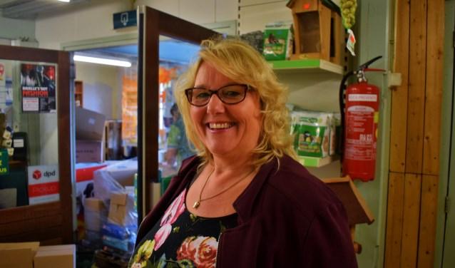 Marian Dekker in haar winkel