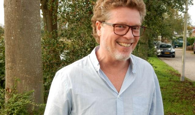 Mark Alban Lotz, een van de organisatoren van het 'Jazzfestival in Zeister Woonkamers'. FOTO: Asta Diepen Stöpler