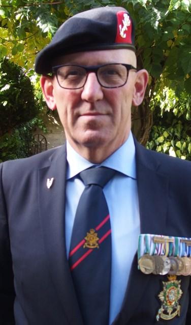 Hermy Heymann is voorzitter van de Stichting Veteranen Contact Veenendaal.