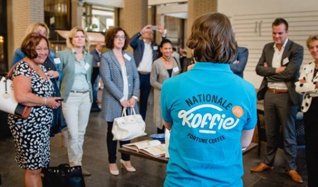 De Nationale Koffiedag trok veel ondernemers (Foto: PR)