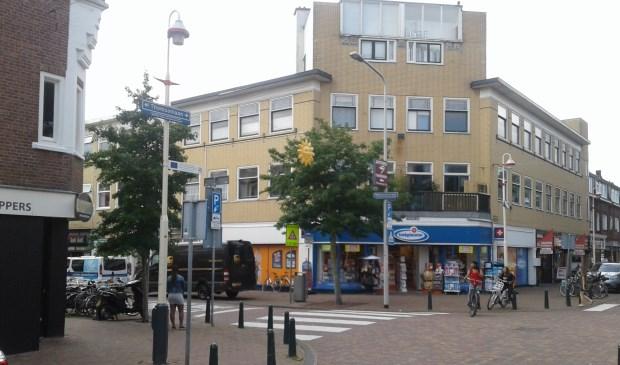 Winkelgebied Fahrenheitstraat-Thomsonlaan.