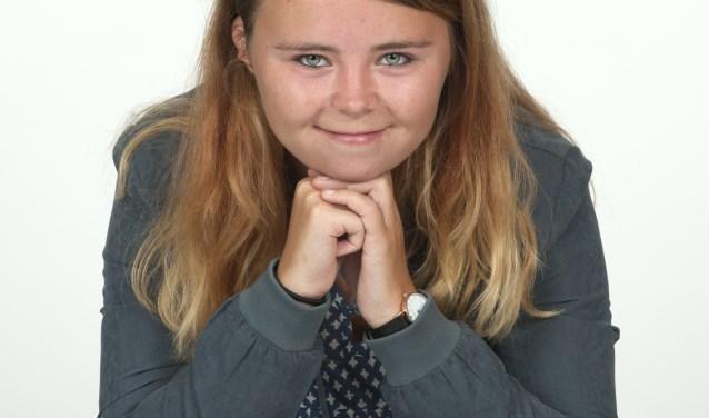 Natascha Pfeiffer (22), vierdejaars student aan MBO Utrecht, is in de race om Uitblinker van 2017 te worden. Foto: Paul van der Klei