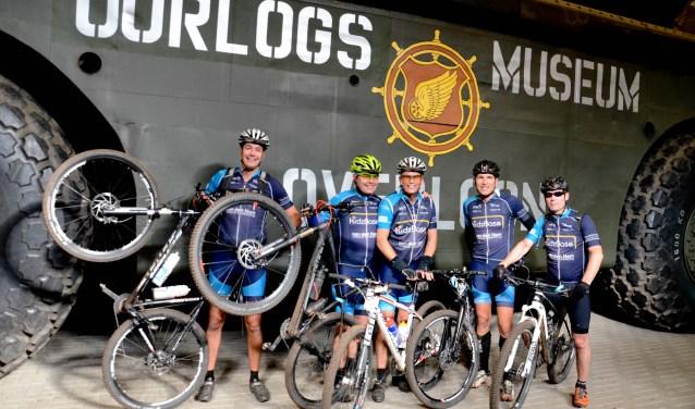 Mountainbikers komen op 14 en 15 oktober weer aan hun trekken in Overloon. (foto: Jo van Gemert)