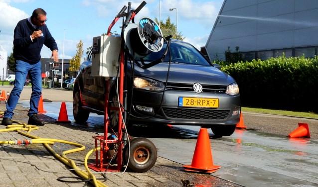 DriveXperience, een mogelijkheid voor jonge automobilisten om hun rijvaardigheid te testen. (Foto: pr)
