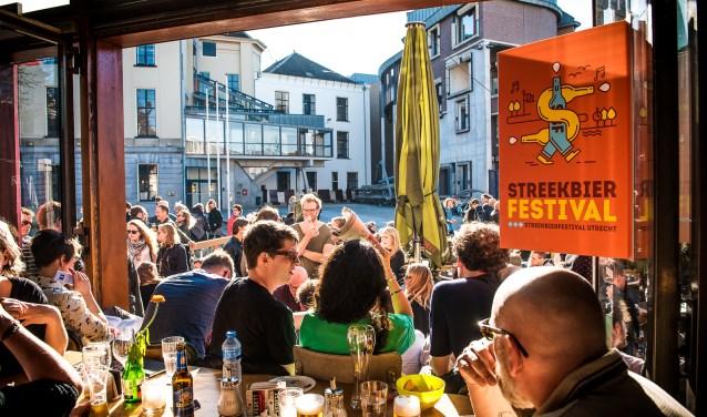 Komend weekend wordt de zevende editie van het Streekbierfestival in Utrecht gehouden. Foto: Anja Netto