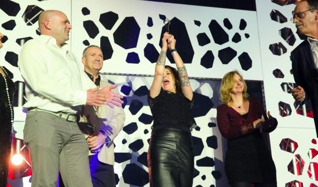 'And the winner is...:' De winnaar van de categorie Evenement 2016: Licht op Noorderveld. Foto: Fototeam KenM.