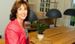 Geboren en getogen op een landbouwmechanisatiebedrijf kreeg Erna Berends het ondernemerschap met de paplepel ingegoten. (foto Gert Perdon)