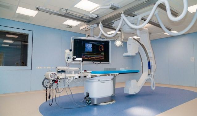 Bij de realisatie van de nieuwe hartcatheterisatiekamers zijn de modernste technieken toegepast.