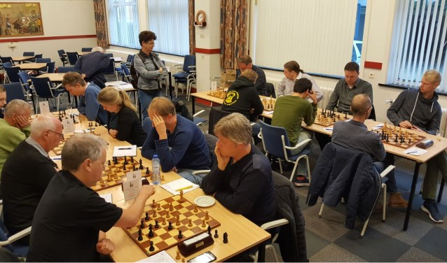 De schakers van BSV wonnen zaterdag met 6-2 van SSSA-3 uit Groningen.