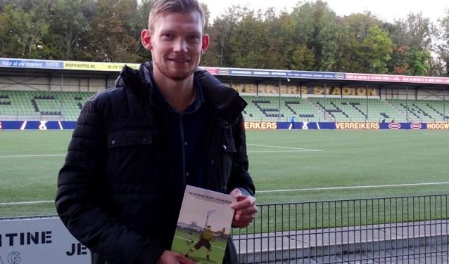 Pieterjan Geneuglijk: 'Als ik puur naar het voetbal kijk was het niet best'. (foto: Elisa Kuster)