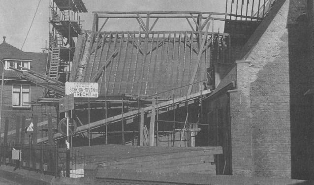 Restauratie van de Dorpskerk in Ouderkerk van 1963 tot 1968.