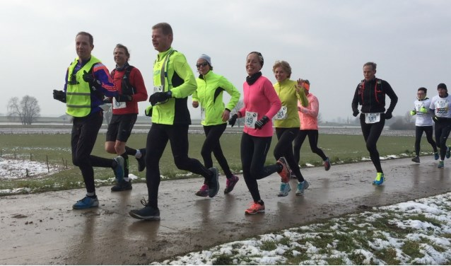 De Two Rivers Marathon wordt op 25 februari 2018 gelopen. Inschrijven kan via de website www.tworiversmarathon.nl. Foto: Two Rivers Marathon