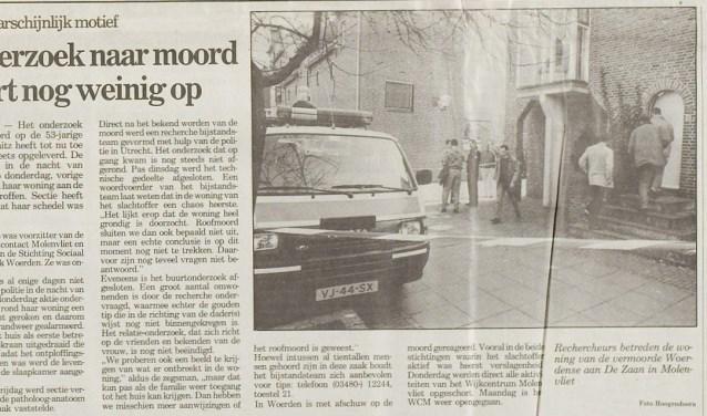 Uit het archief van de Woerdense Courant, 21 maart 1991