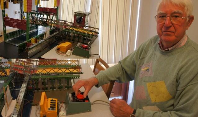 Met gemiddeld tien uur per week bouwt Pieter de Jong in ongeveer zeven maanden een project. (Foto: Thea van der Raaf)