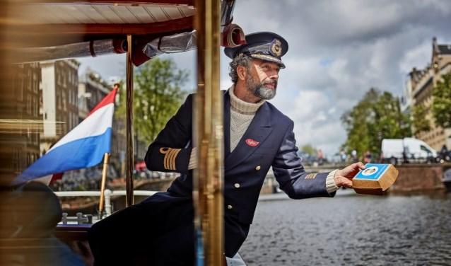 Florian in zijn rol als Kapitein Iglo