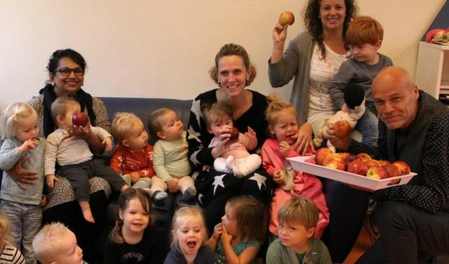 De eerste Dag van de PIT werd goed ontvangen met appels (Foto: PR)