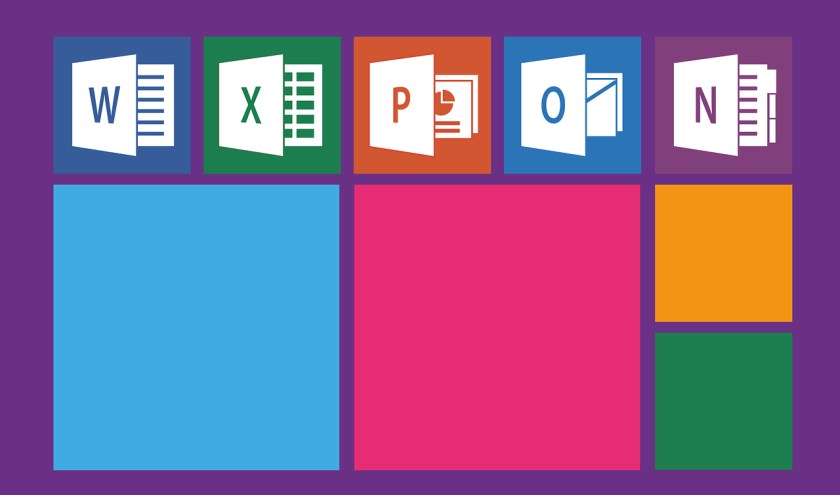 Logo's van Microsoft Office. Afbeelding: Pixabay/Pixaline