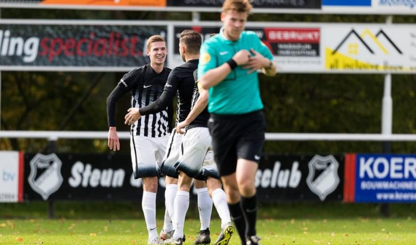Roel Gebbinck scoorde tweemaal voor Silvolde en staat al op vier treffers (8 punten). (foto: Iris Epping, www.sportclubsilvolde.nl)