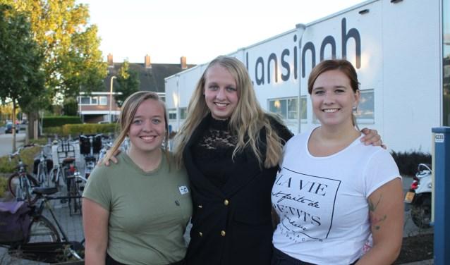 Allison, Christel en Myrthe: polo-enthousiast!