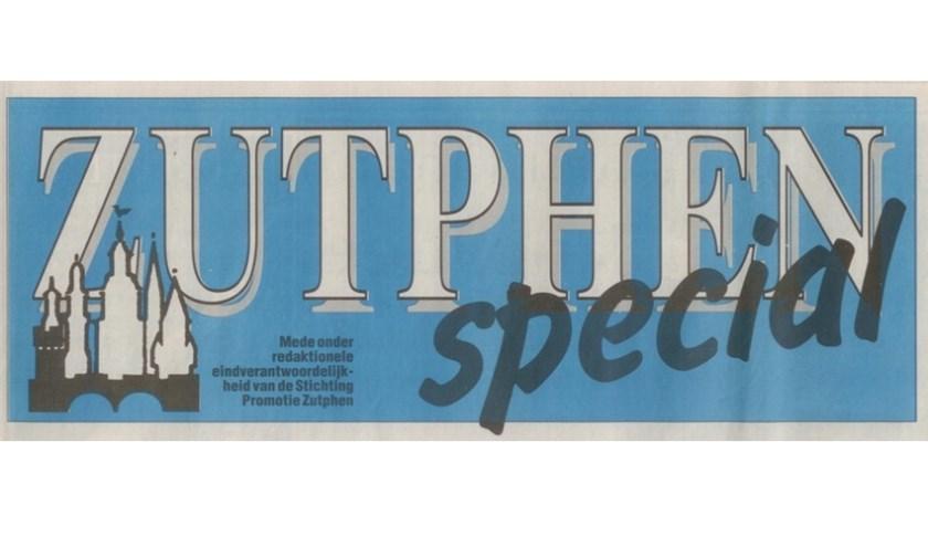 De kop van Zutphen Special waarmee het begon. Met dank aan Patrick van Gemert.