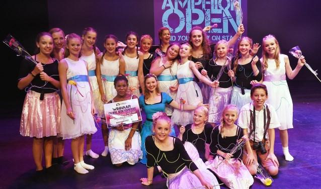 Vaye musicaltheater is de winnaar van de publieksprijs. (foto: Roel Kleinpenning)