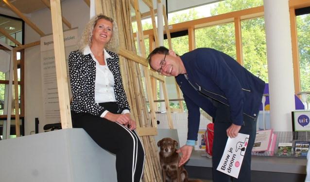 """Henriëtte Keijzer en Dennis Nolte: """"Duurzaamheid is makkelijker dan je denkt."""" (Foto: Lysette Verwegen)"""