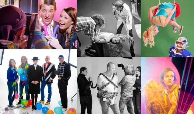 De Choke & Rescue Tour eindigt 5 oktober met een grande finale in het Eper café De Posthoorn. Dit is een collage van de tentoonstelling. (Foto's: Martin Hogeboom en Peter Vroon)