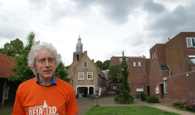 Ben van der Linden zag geen kans meer om de beiaardweken levensvatbaar te houden in Vlaardingen. (Foto: Peter Spek)