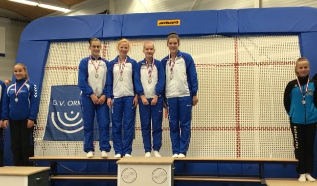 Marieke Winters, Manon Kapers, Kim Boekelder en Lotte de Vrught (vlnr).