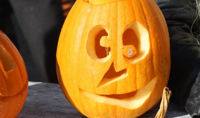 Halloween knutselen bij Buytendelft