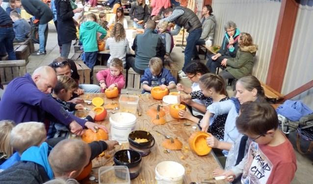 Zaterdag 14 Oktober a.s. vindt de jaarlijkse pompoenendag in Cothen weer plaats bij de familie Vernooij.