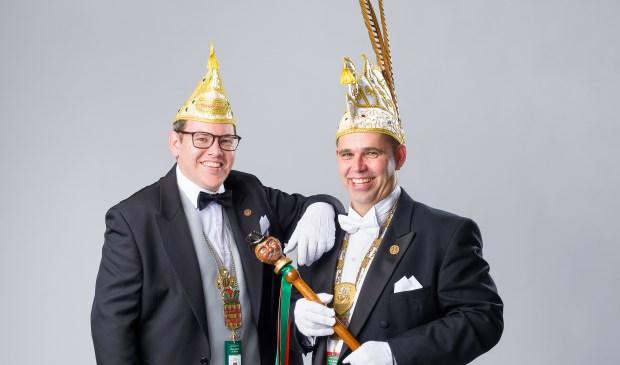 Prins Gerton en adjudant Koen. Foto: Patrick Bongartz.