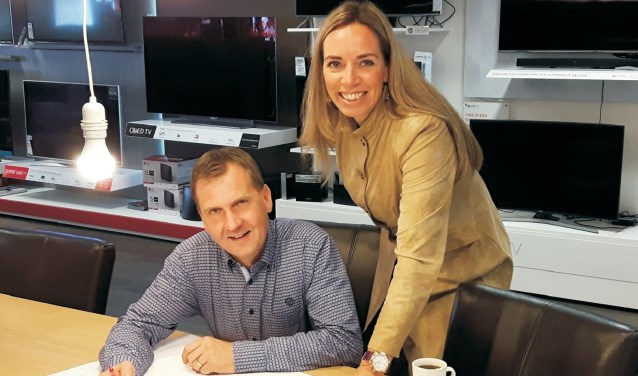 Rick Huurdeman en Marian Hettelaar.
