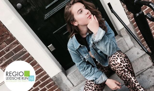 Jolie van der Veen uit Leidsche Rijn speelt Cassie in de musical '13'. Foto: PR
