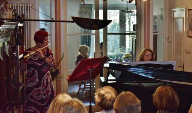 klassieke muziek in de Langestraat  met duo 'Eigen wijs'
