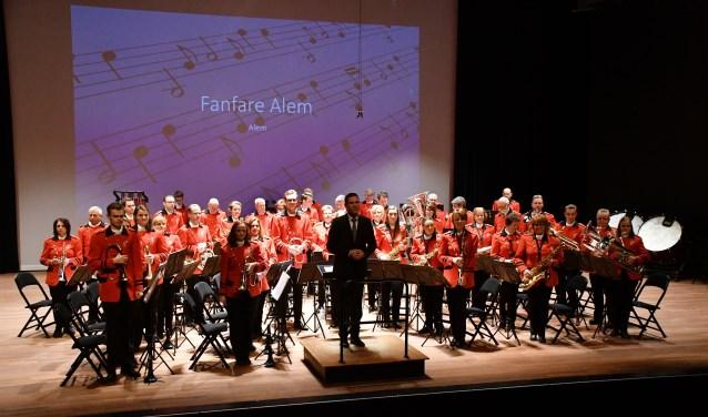 Fanfare werd eerste tijdens het concertconcours in Veldhoven.