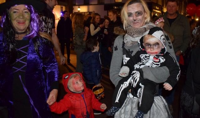 Halloween was er voor jong en oud