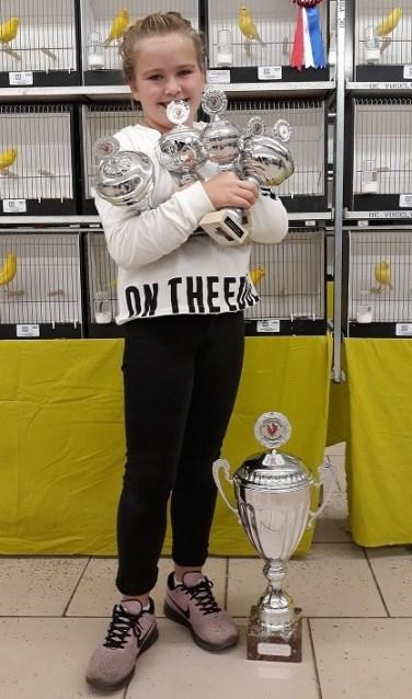Zoe van Schelt werd winnaar bij de jeugd (Foto: PR)