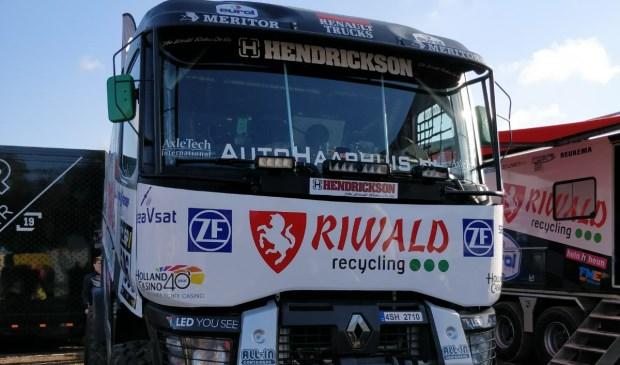 Presentatie van de trucks tijdens de onlangs gehouden Pré Proloog