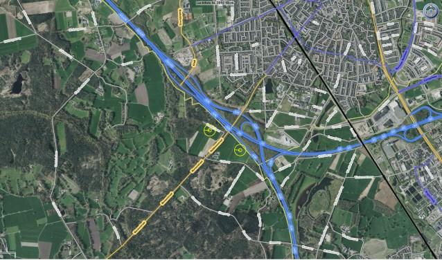 Het idee is om twee windmolens te plaatsen langs de snelweg A1/A35. De beoogde plekken liggenten zuiden van het knooppunt Buren. Dit initiatief bevindt zich nog in een vroeg stadium.