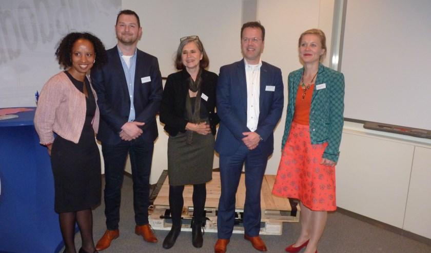 Rochelle Heerema, Sander Knijnenburg, Ineke van der Wel, Richard van der Geest en Marloes Borsboom