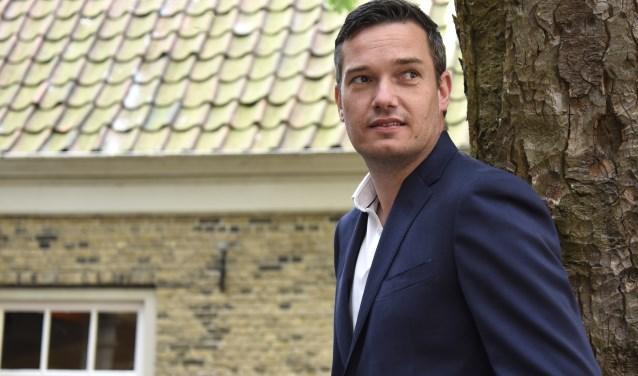 Goudse VVD-lijsttrekker Ronald Verkuijl heeft een uitgesproken visie, waarmee de partij de verkiezingen ingaat. Foto: Marianka Peters